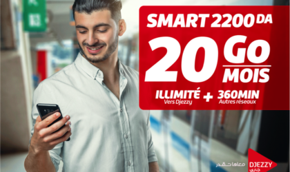 Djezzy relance l'offre Smart avec plein d'avantages et plus de Data