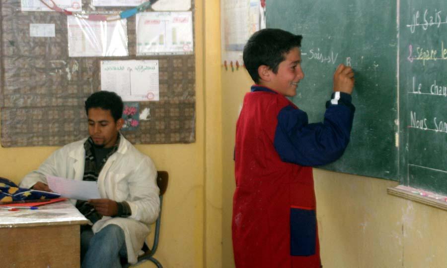 Ecole enseignants