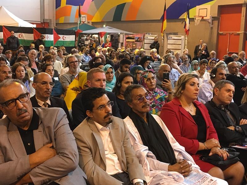 La délégation algérienne est conduite par Abdelhamid Si-Affif