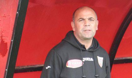 Ligue 1 Mobilis/JS Saoura: l'entraîneur Bouali claque la porte
