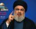 Il annonce une alliance avec l'OLP : Hassan Nasrallah promet l'enfer à Israël