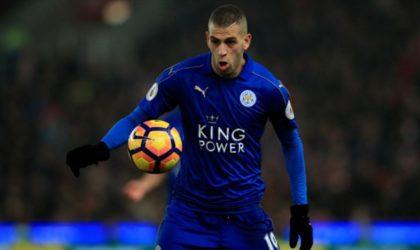 Accord trouvé entre Leicester et Newcastle pour le transfert de Slimani