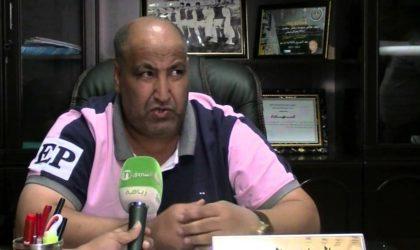 LFP: le président de l'ES Sétif Hacène Hammar suspendu un mois