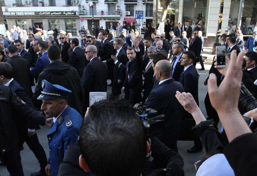 Macron Alger Audin