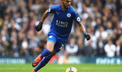 Premier League: Mahrez pourrait quitter Leicester en cas d'offre sérieuse