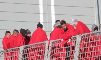 22 900 migrants clandestins algériens et marocains recensés en Espagne en 2017