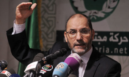 Mokri met en garde contre un axe franco-maroco-saoudien contre l'Algérie