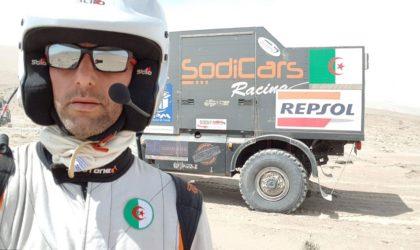 Images exclusives de la 7e étape du rallye Paris-Dakar avec Ramzi Osmani