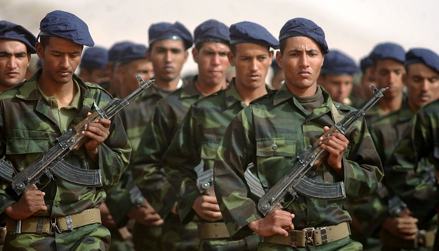 Guerguerat Sahara Occidental roi Maroc