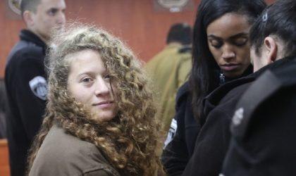 Signez l'appel pour la libération de la militante palestinienne Ahed Tamimi !