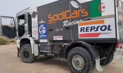 Images exclusives de la 4e spéciale du rallye Paris-Dakar