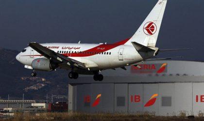 Un avion d'Air Algérie à destination de Paris rebrousse chemin pour incident technique