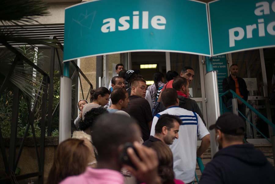 asile réfugiés