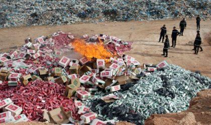 Des cigarettes produites en Israël saisies à l'Est du pays