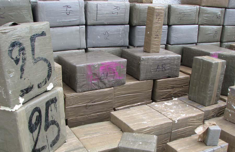 drogue contrebandiers