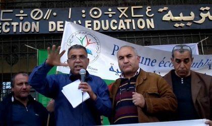 Grève dans l'éducation: les parents d'élèves se mobilisent à Béjaïa