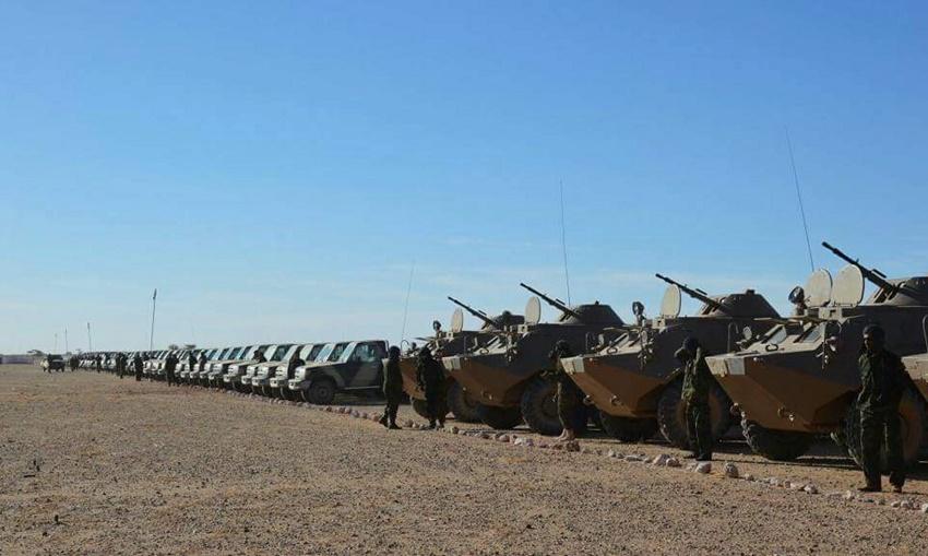 Rabat a déjà massé ces derniers jours plusieurs batteries de missiles