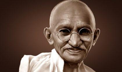 Mahatma Gandhi symbole éternel de la paix