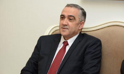 Le ministre tunisien de l'Intérieur, Lotfi Brahem, en visite à Alger