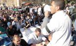 Rassemblement national des médecins résidents à l'hôpital Mustapha Pacha