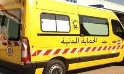 Deux blessés dans le séisme d'Oued Djer