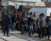 Des élèves sortent dans la rue pour dénoncer la grève du Cnapeste
