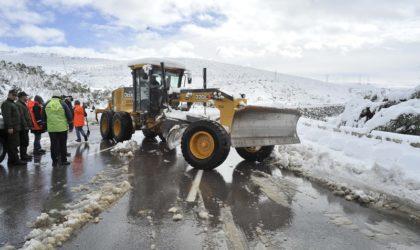 BMS: chutes de neige attendues lundi soir dans les wilayas du centre et de l'est