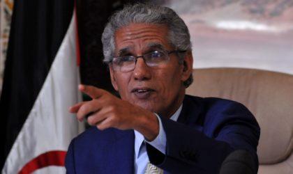 Ould Salek menace: «Soit le Maroc obéit, soit c'est l'intervention militaire»