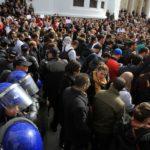 grève résidents APN