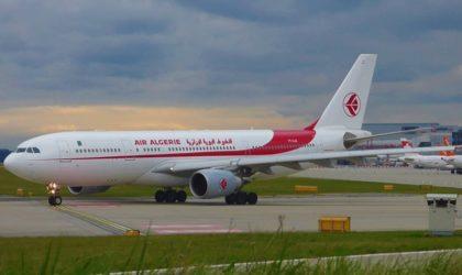 Air Algérie: retour à Alger d'un avion à destination de Beyrouth en raison d'une panne technique