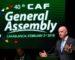 Confédération africaine de football: élection de quatre nouveaux membres
