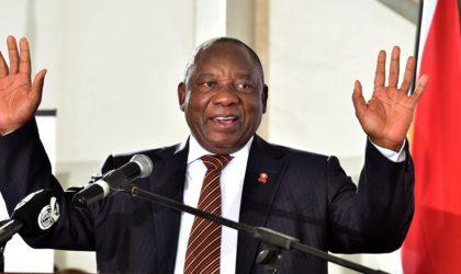 Cyril Ramaphosa élu président de l'Afrique du Sud