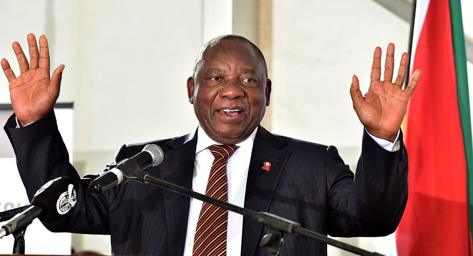 Afrique du Sud Présidence Cyril Ramaphosa Jacob Zuma