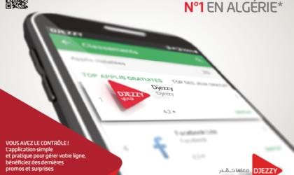 Djezzy Internet : l'application la plus téléchargée en Algérie