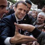 Macron visite