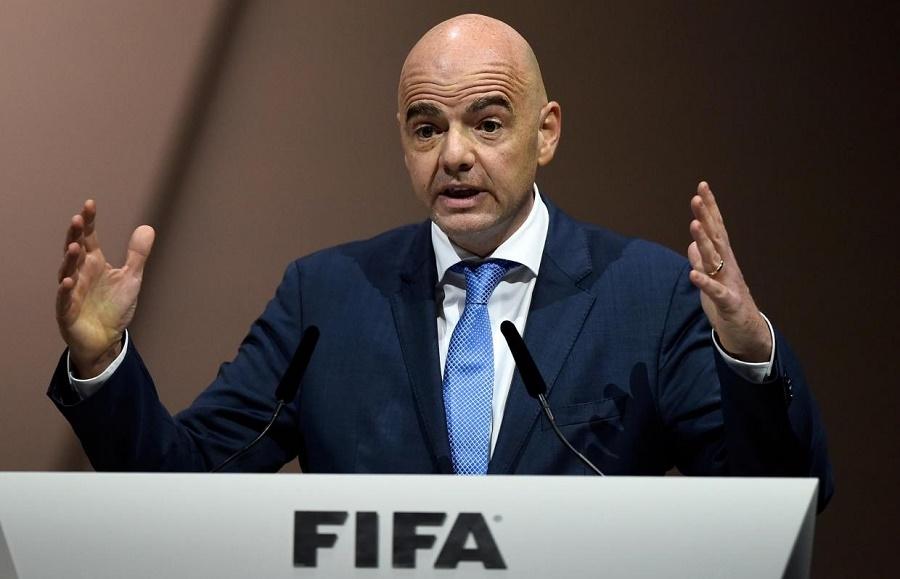 Infantino Fifa Italie