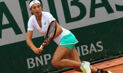 Tournoi Palmanova Calvia de tennis: Inès Ibbou qualifiée au deuxième tour