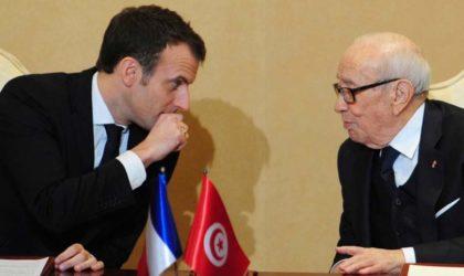 Macron ment aux Tunisiens pour camoufler la faillite du printemps arabe