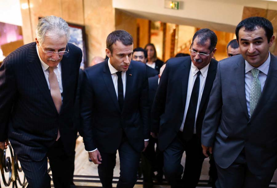 Macron islam
