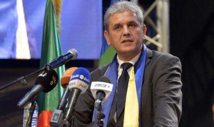 Belabbas : «Ma réélection est une reconnaissance envers le travail accompli par la direction»