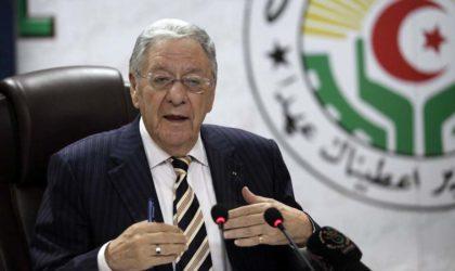 Ould-Abbès: «Le remaniement du gouvernement est du ressort du Président»