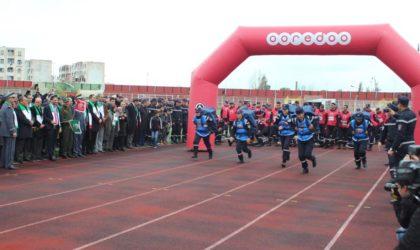 Ooredoo accompagne la compétition «Challenge national des sapeurs-pompiers de la région est»