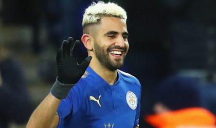 Leicester City: Riyad Mahrez dans le groupe contre Manchester City