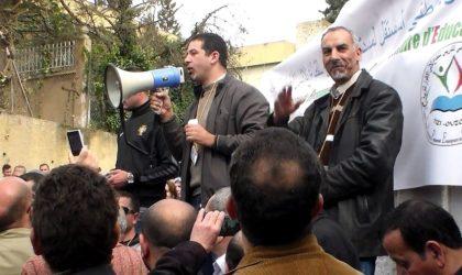 Blida: plusieurs enseignants affiliés au Cnapeste regagnent leurs postes de travail