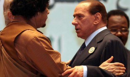 Silvio Berlusconi : «Le renversement de Kadhafi était de la folie»