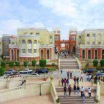 A l'entrée de l'université de Bouira. D. R.