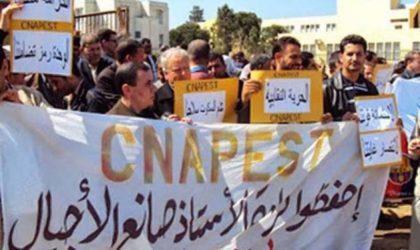 Grève du Cnapeste à Blida: plus de 400 enseignants grévistes n'ont pas repris