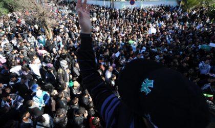 Rassemblement de lycéens aujourd'hui à Alger