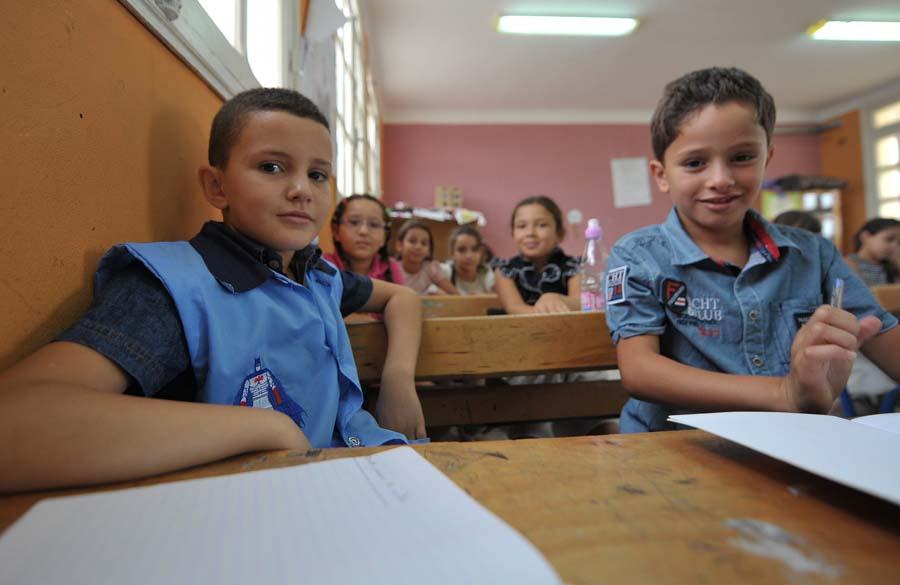 élèves Nouria
