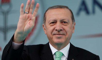 Erdogan : «L'Algérie joue un rôle essentiel pour la sécurité et la stabilité dans la région»